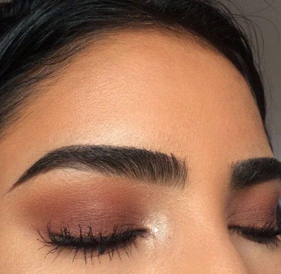 cejas para ojos marrones