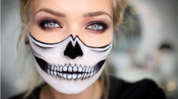 maquillaje halloween chicas