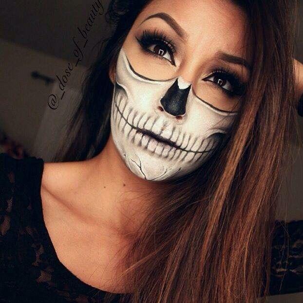 maquillaje para mujeres de halloween - Maquillaje Halloween