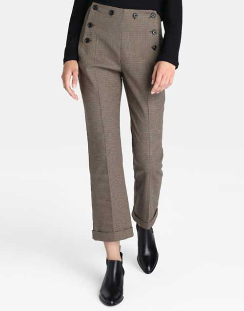 Pantalones a cuadros Corte Inglés