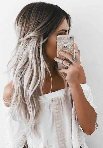 Colores de pelo rubio ceniza
