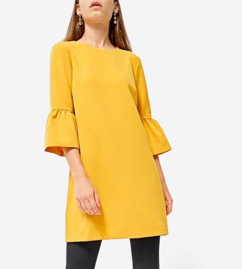 vestido otoño invierno Zara