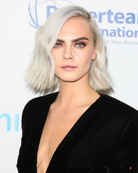 Tendencias de cabello 2017 platino