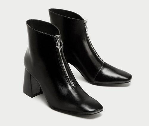 Zara Trafaluc botines negros