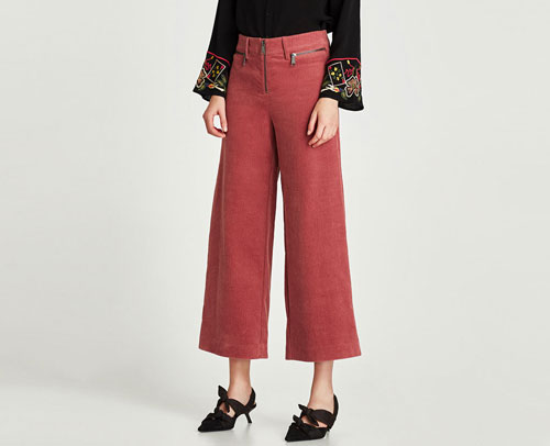 Zara Trafaluc pantalones de pana