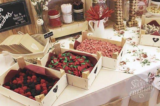 Bodas originales mesa de dulces
