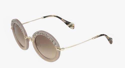 Gafas de sol redondas Miu Miu