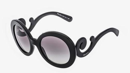 Gafas de sol redondas Prada