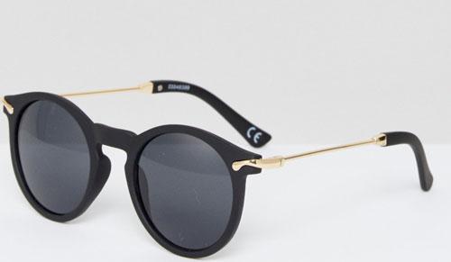 Gafas de sol redondas de pasta