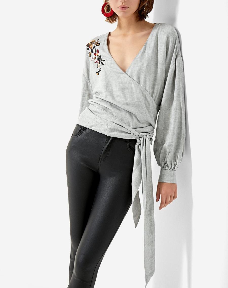 kimono para mujer camisa
