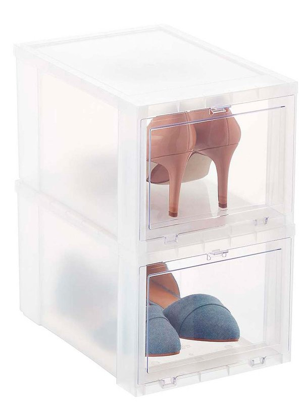 Vestidores pequeños ideas para zapatos