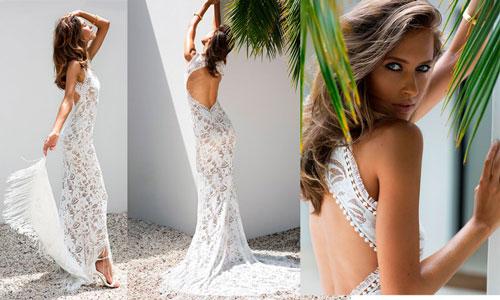 Vestidos de novia bohemios