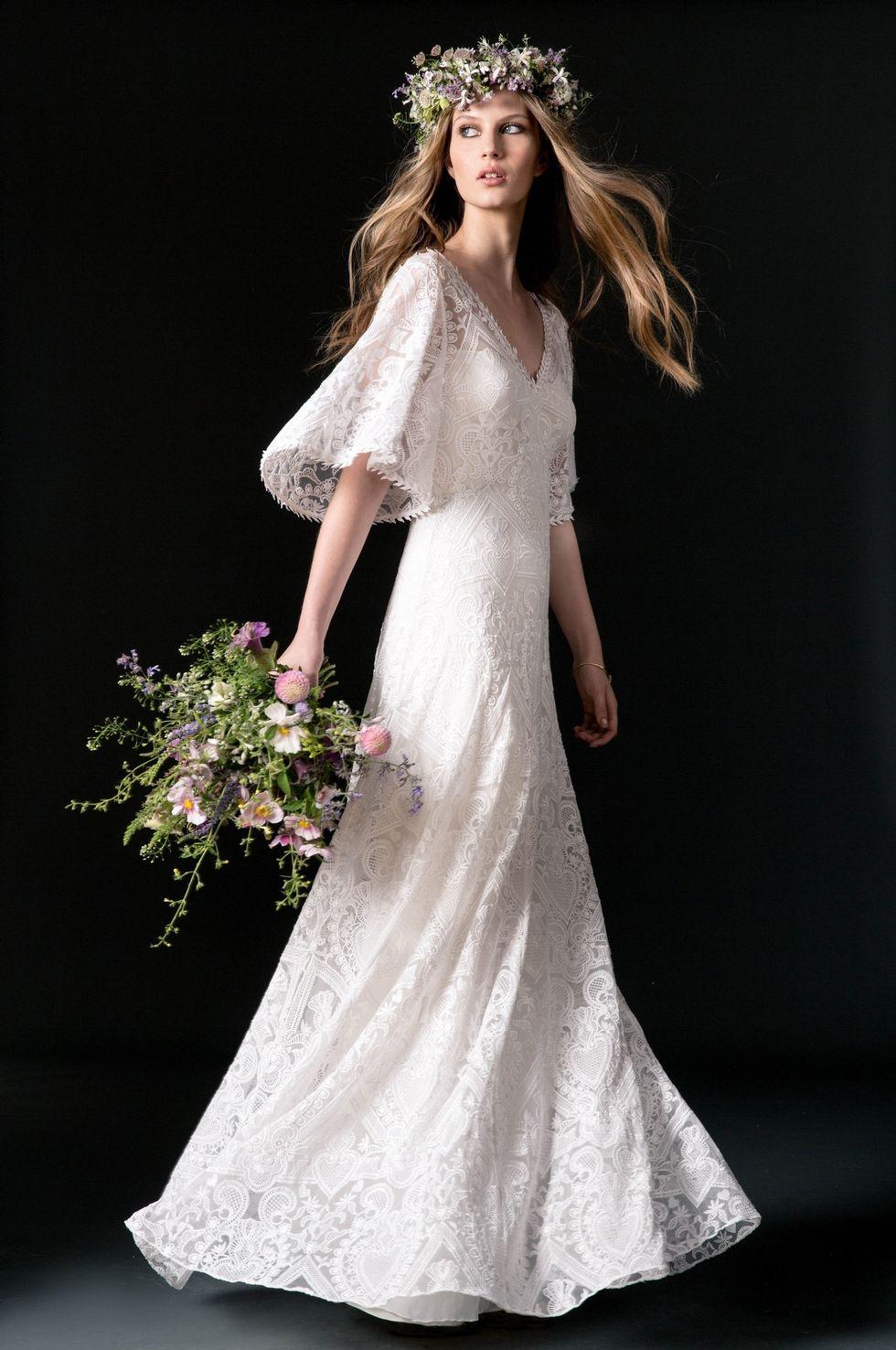 Vestidos de novia boho a buen precio