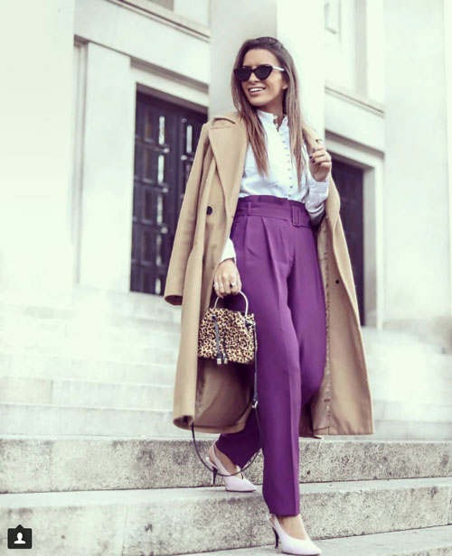 Ultra violet outfit ideas