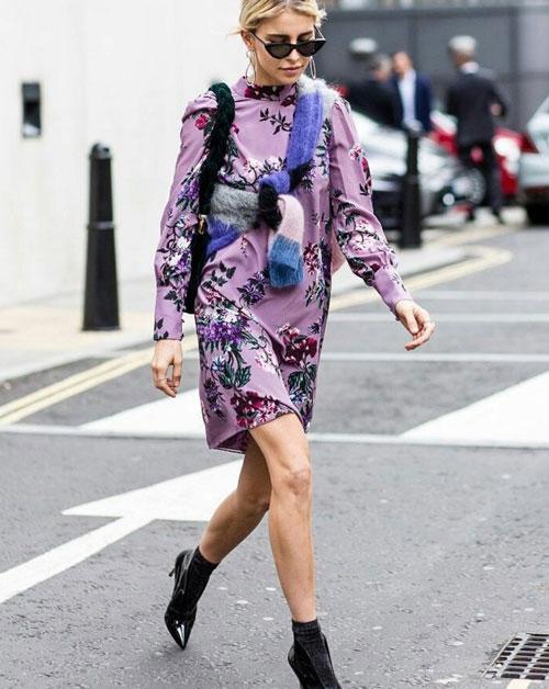 Violeta color de moda