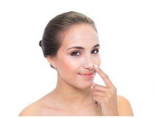 operación en la nariz