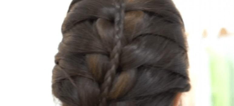 Peinados con trenzas paso a paso para cabello largo