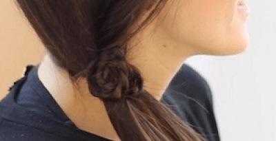 Peinados con trenzas y ondas