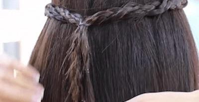 Peinados con trenzas africanas