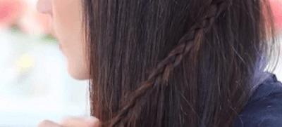 Peinados con trenzas pelo corto