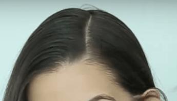 Hacer una linea lateral en el pelo