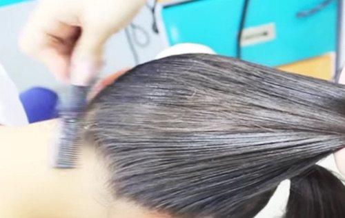 Acceder a raiz del pelo