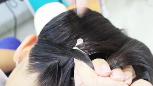 Añadir cabello a la trenza