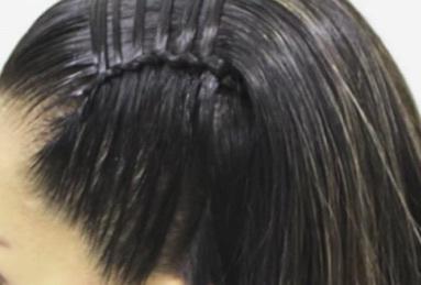 Diadema con cordón chino