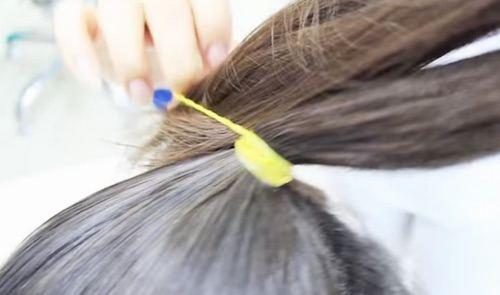 Peinamos el cabello
