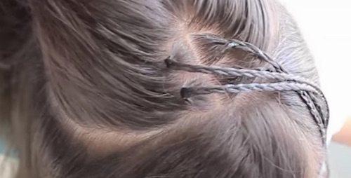 Separar el cabello