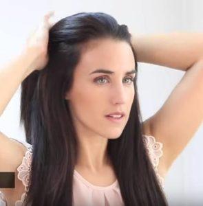 Tirar cabello hacia atras