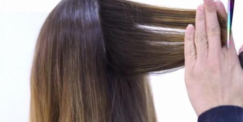 Corte de peluquera