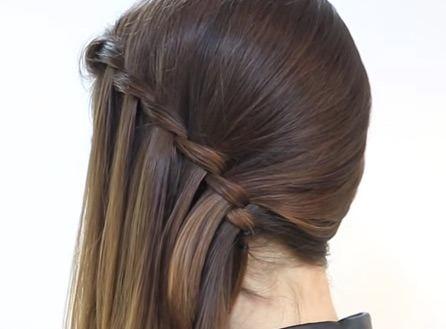 Peinado de lado
