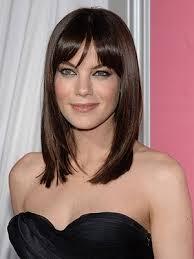 Peinado flequillo Michelle Monaghan