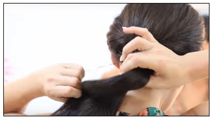 Agarrar cabello