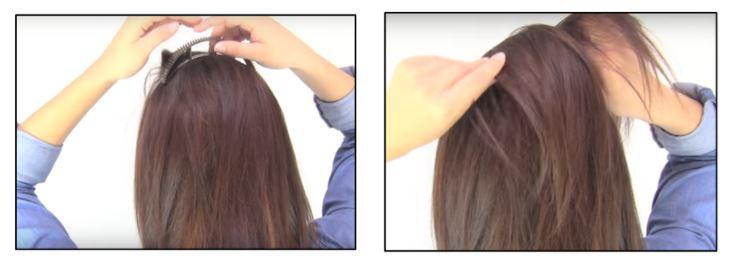 Pasar cabello