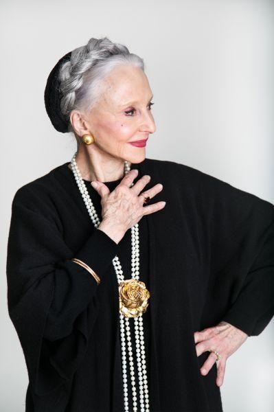 Peinado para abuela original