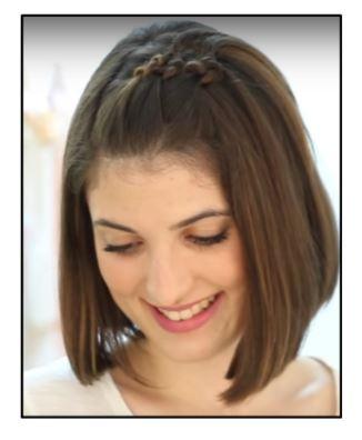 Peinado bonito fácil