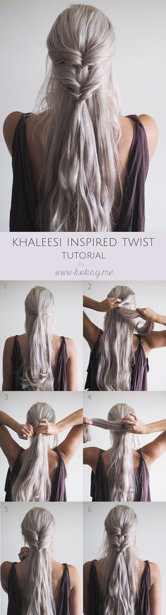 Peinado khalessi