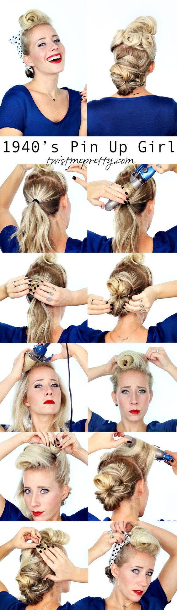 Peinados Pinup