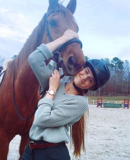 Trenzas en caballos