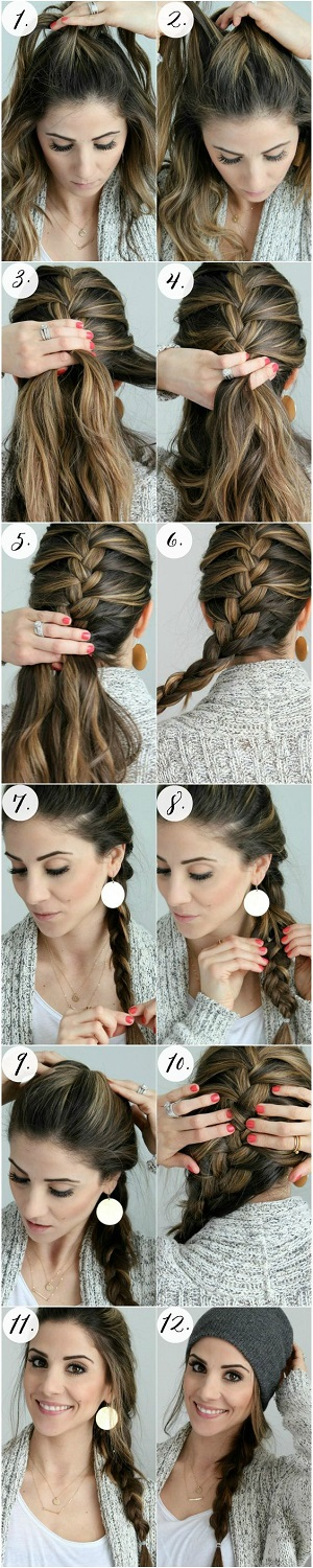 Tutorial trenza francesa