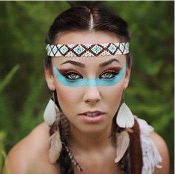 maquillaje indigena