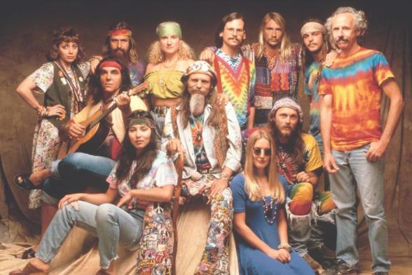 moda años 60 hippie