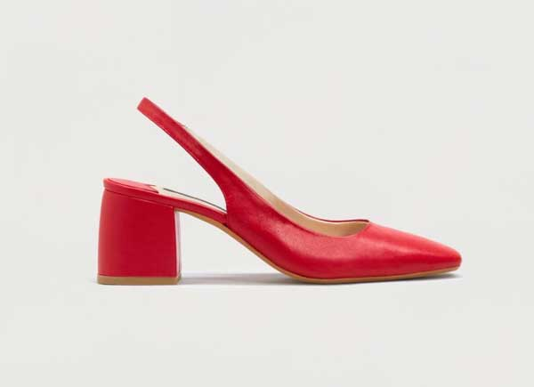 Mango Violeta zapatos