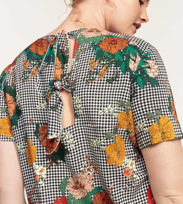 Mango Violeta camisas otoño