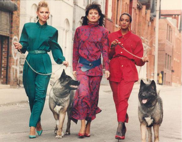 moda clásica años 80