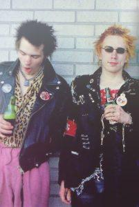 Moda rockera años 80