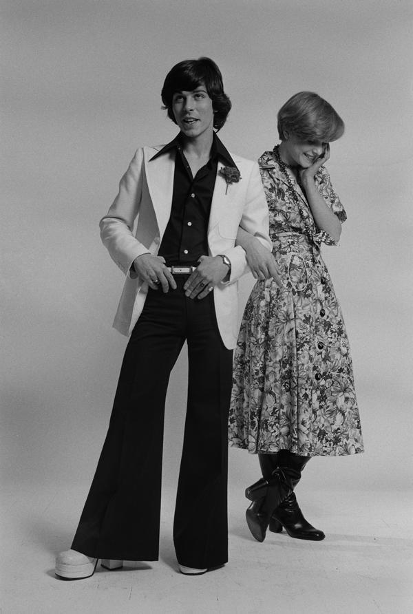 ropa de los años 70