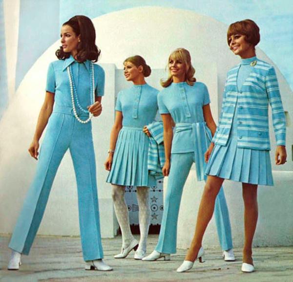 moda setentas mujer